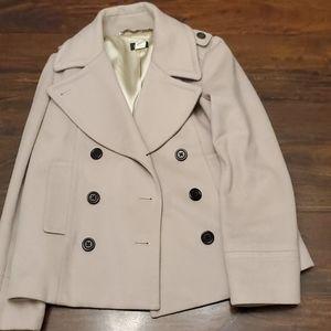 J Crew Pea Coat size 8 - wool